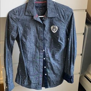 blouse tommy hilfiger excellent condition